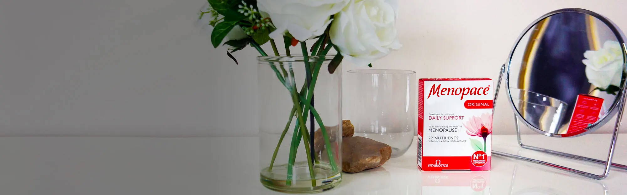 Menopace Original On Dressing Table