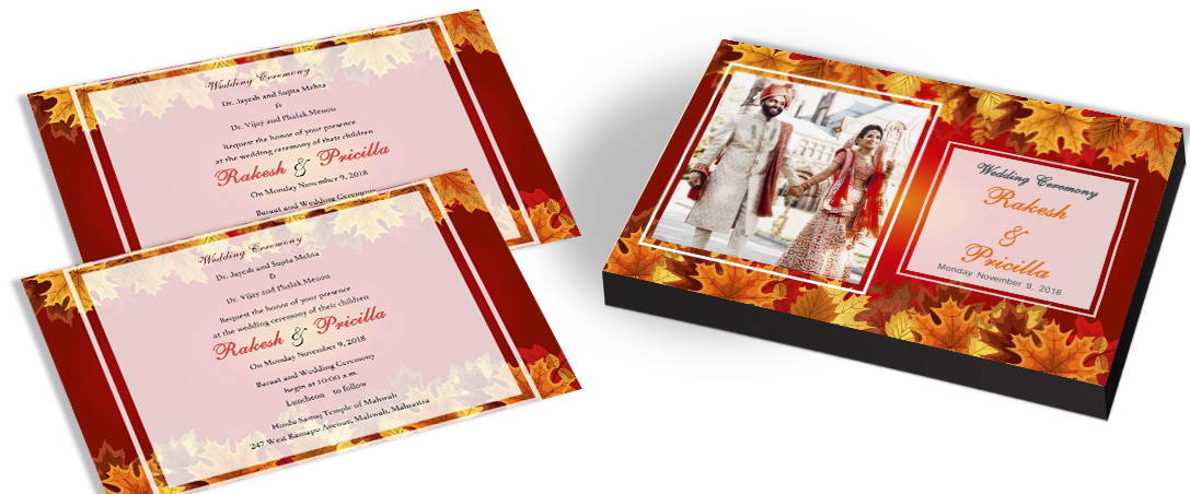 Graceful Wedding Invitations In India