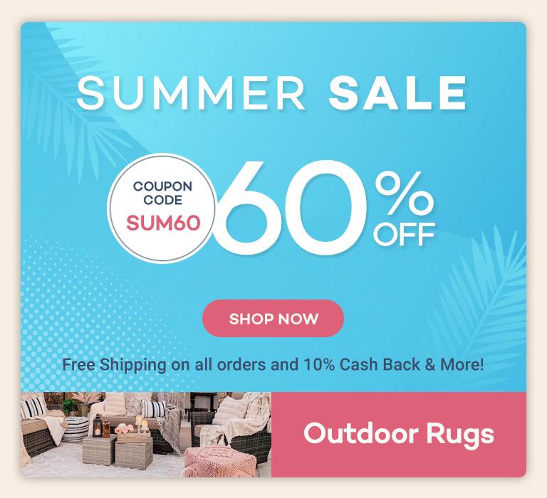 Summer Sale 60% off