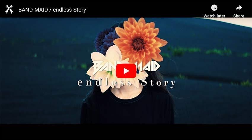 Band-Maid endless story music video thumbnail