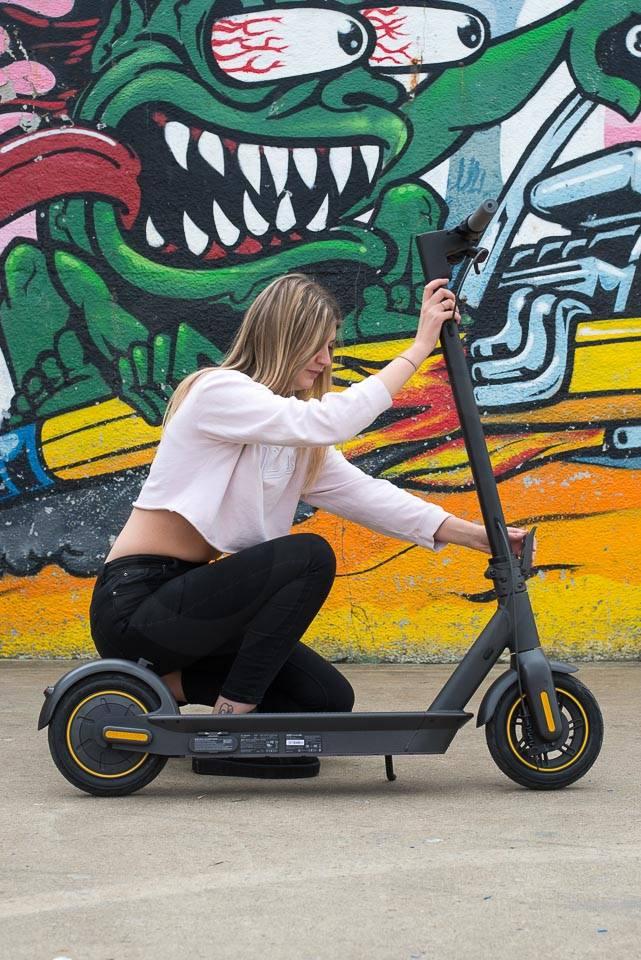 Ninebot Max G30 電動滑板車折疊如何釋放安全