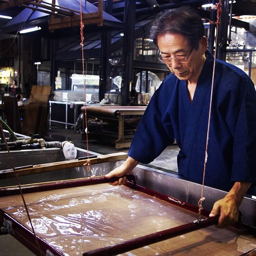 6th generation Awagami washi paper maker