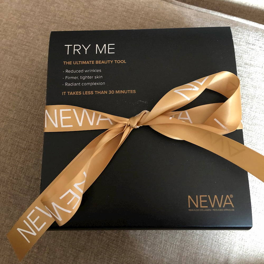NEWA Beauty Device gift wrapped