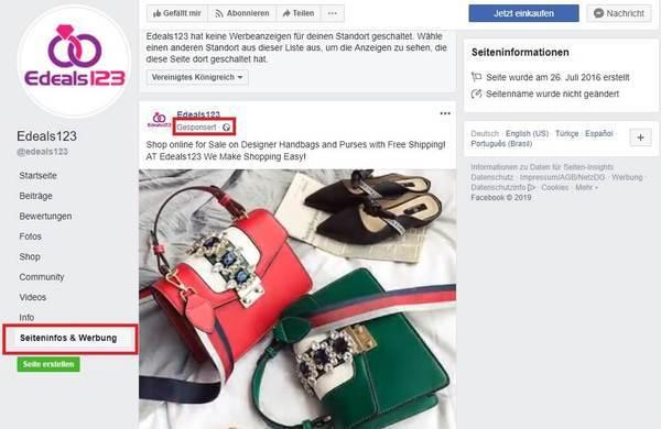 Facebook öffentliche Ads - Aliexpress Dropshipping Stores und Produkte finden