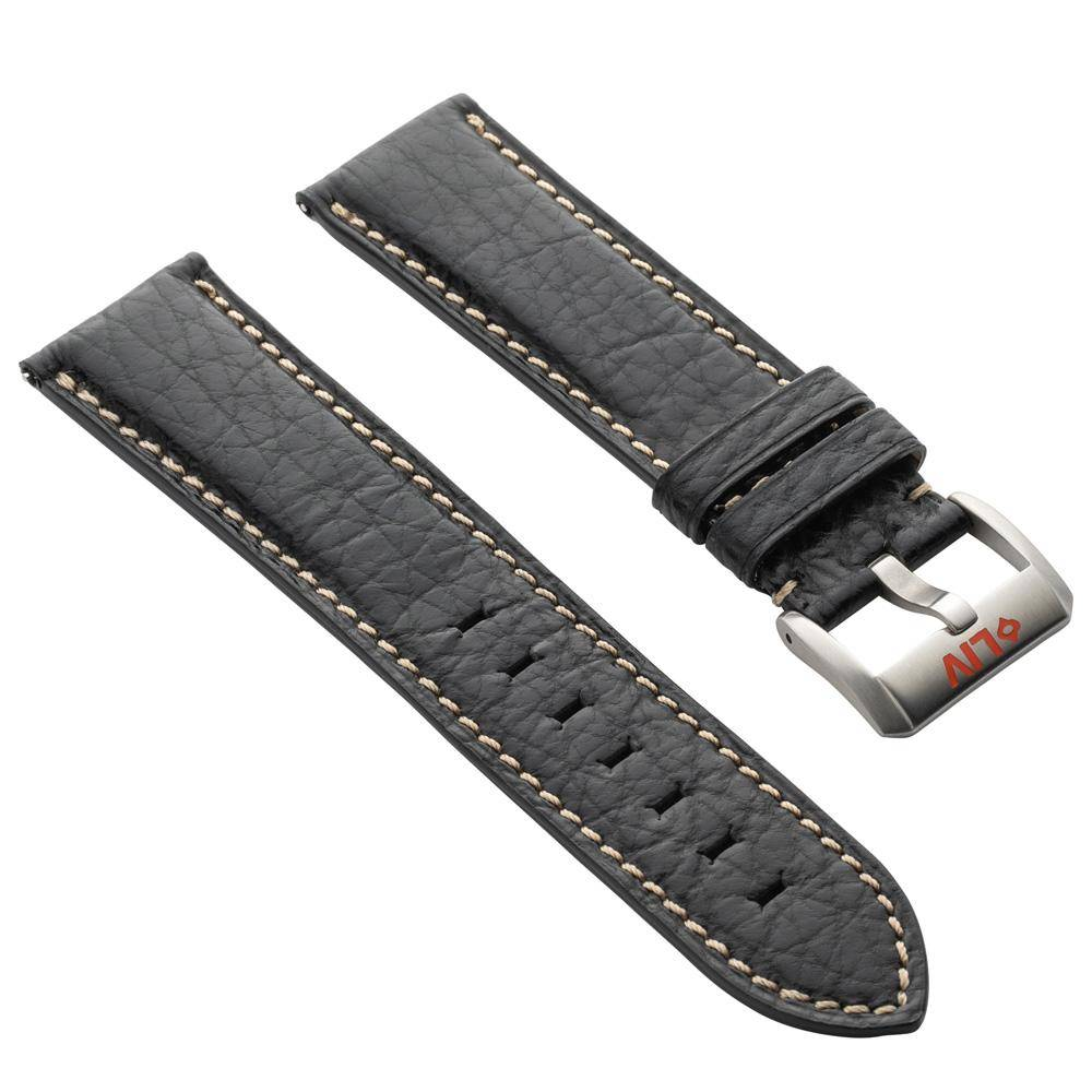 Sharkskin leather watch strap