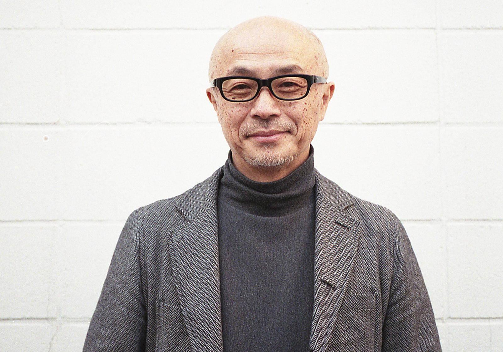 Portrait of Nanamica c0-founder Eiichiro Homma