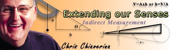 Extending our Senses - Indirect Measurement by Chris Chiaverina