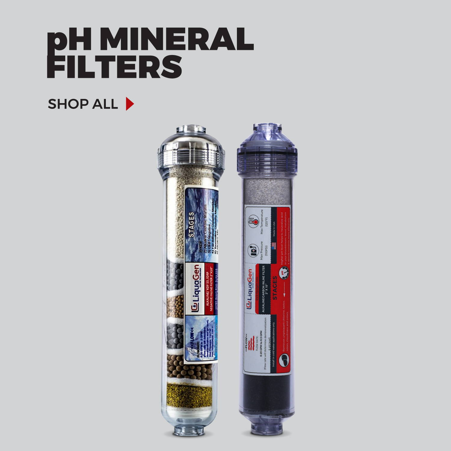 ph mineral filters