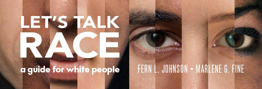 Let's Talk Race book cover