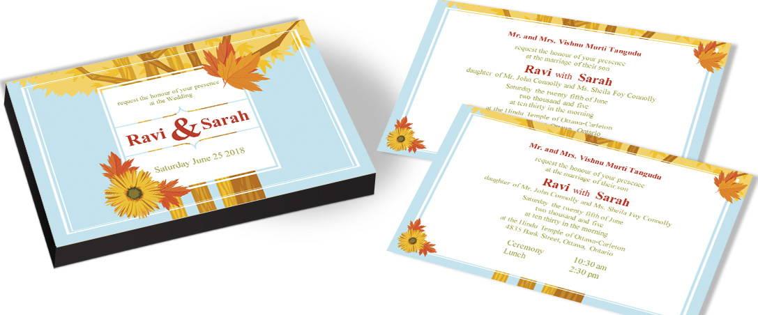 Bird Tree Wedding Invitations