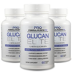 3 Bottles of Glucan Elite