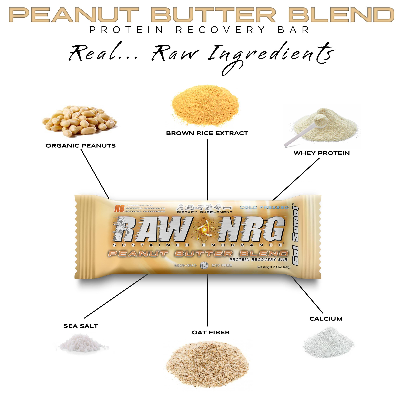 Protein bar - RAW NRG