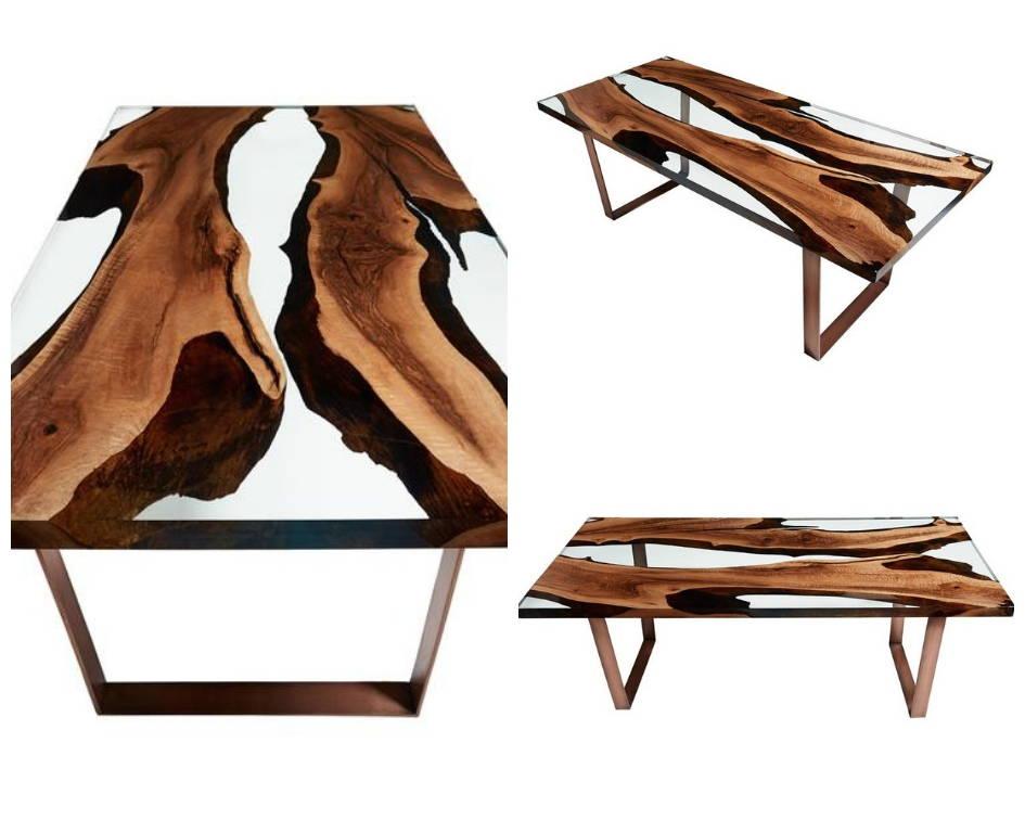 Naturalist Hudson 220 Resin Dining Table