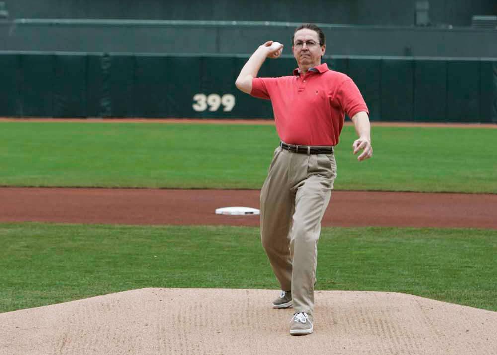 Baseball Stadium First Pitch