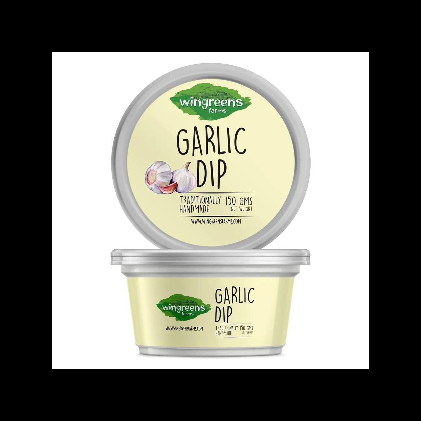 Healthy Snacks - Garlic Dip
