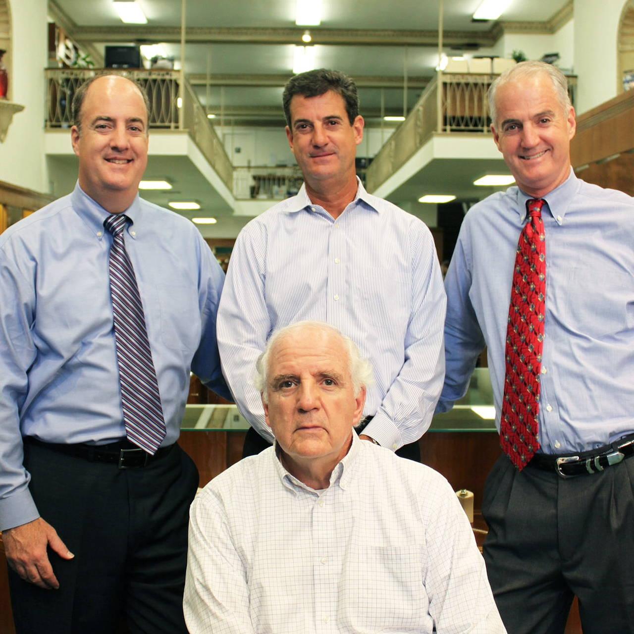 Arnold Schiffman, Lane Schiffman, Vance Schiffman and Tony Schiffman