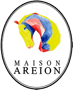 Maison Arion logo features a horse from Greek mythology