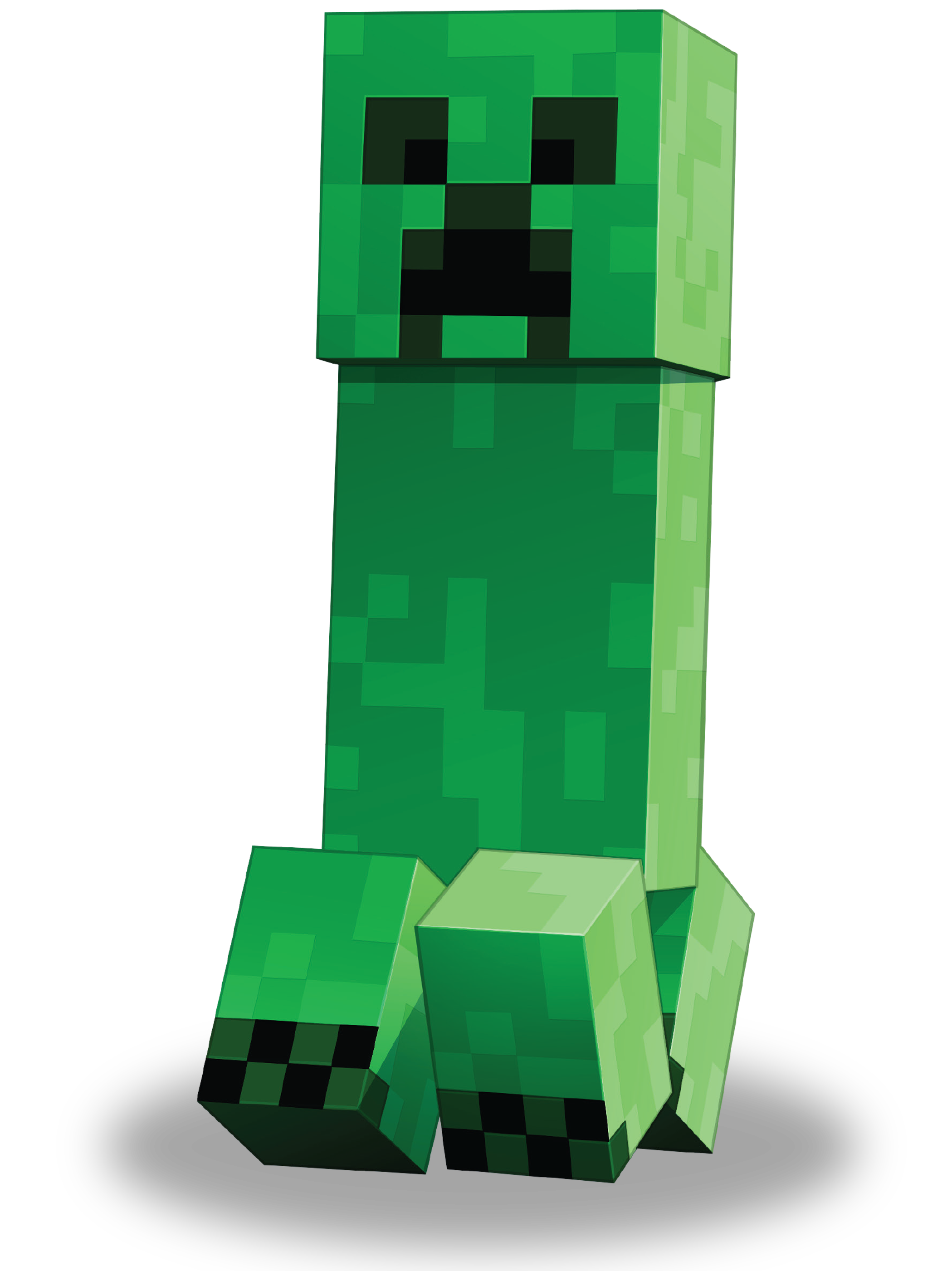A Minecraft creeper