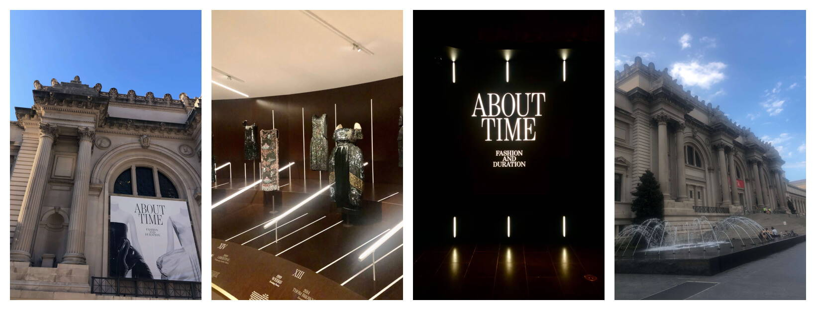 exhibit time collection