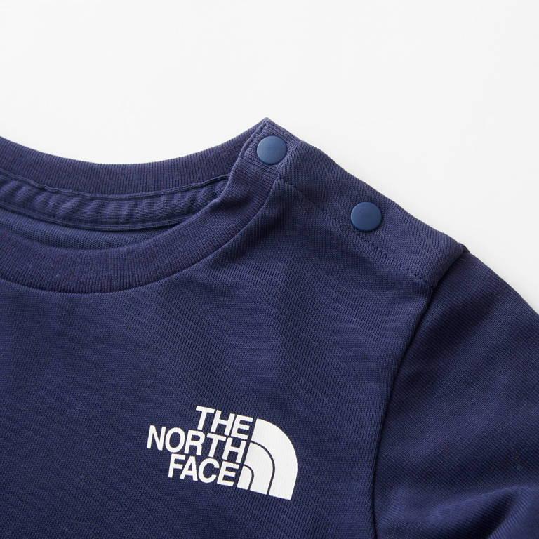 THE NORTH FACE(ザ・ノース・フェイス)/ベビーロングスリーブスクエアロゴティー/ネイビー/BABY