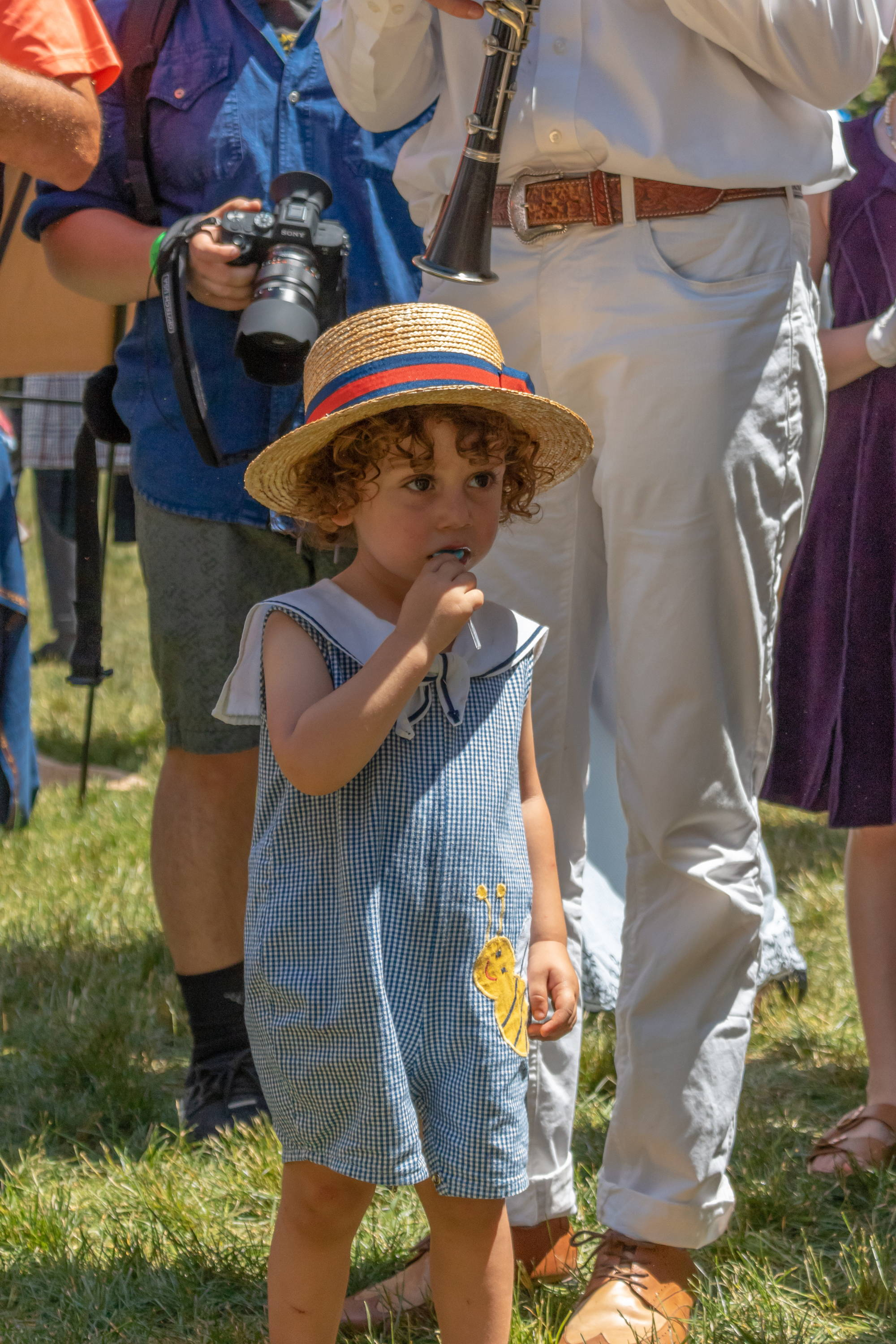 Childrens Parade at Jazz Age Lawn Party Highlights Vintage-Inspired Fashion Trends