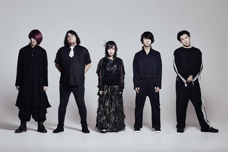 Lie and a Chameleon band pic for JUGEM album. 嘘とカメレオン
