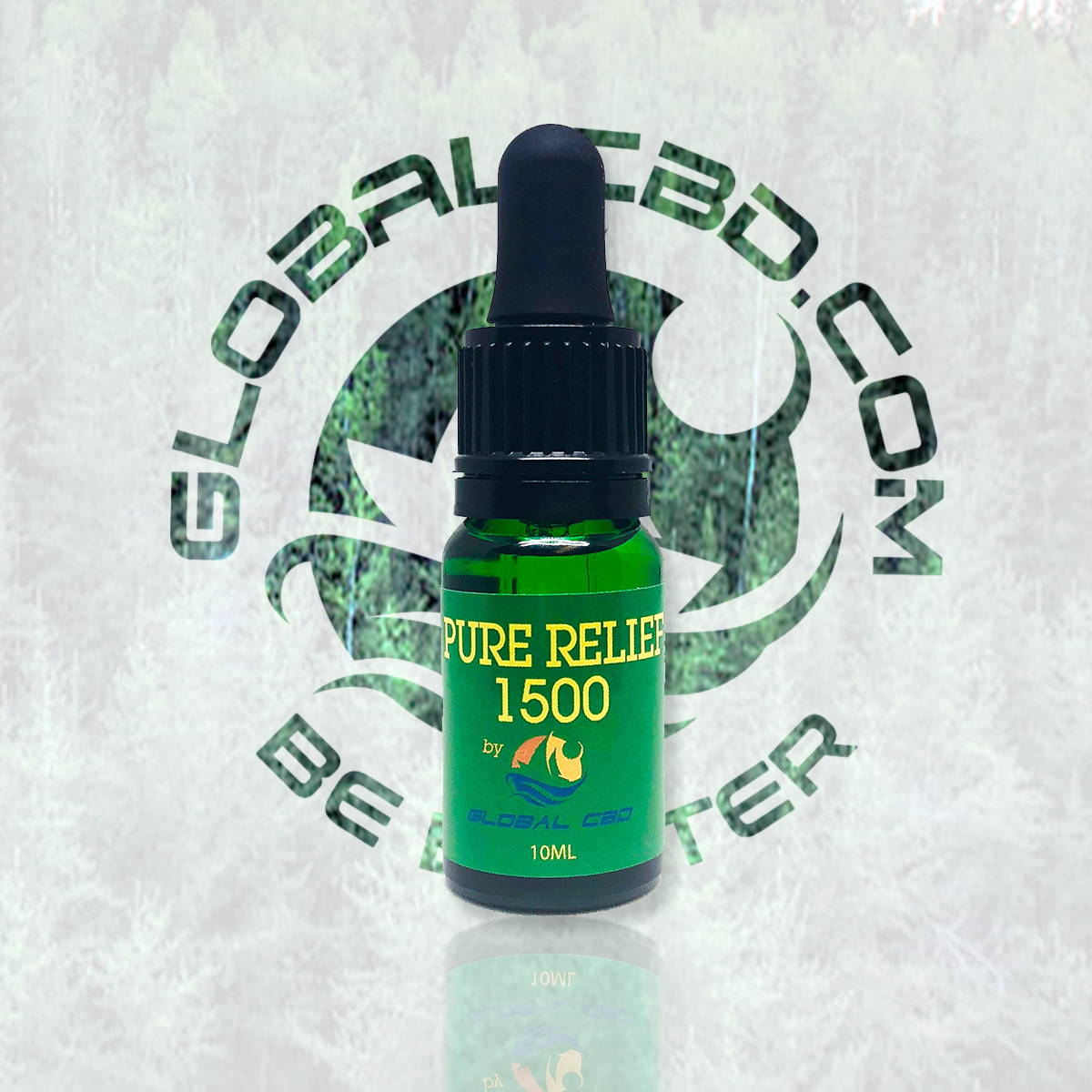 Pure Relief CBD 1500 Hemp Oil Tincture Available in Wholesale & Retail Located In Our Global CBD online Shop