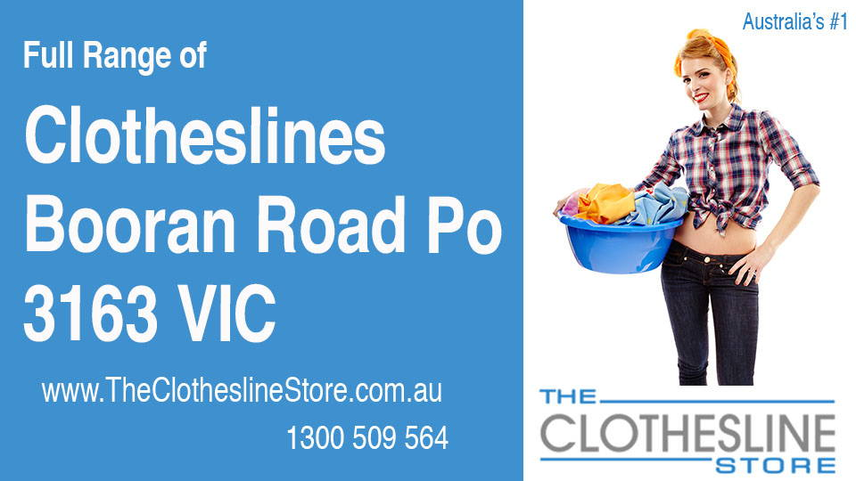 New Clotheslines in Booran Road Po Victoria 3163
