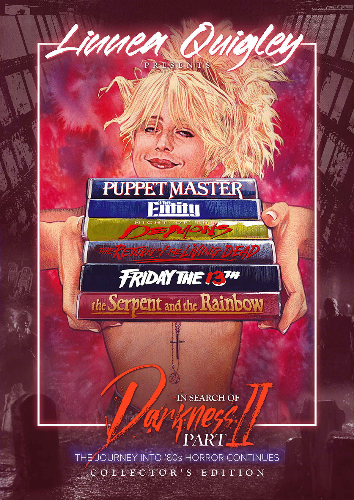 In Search of Darkness Part II, Linnea Quigley Collector's Edition poster