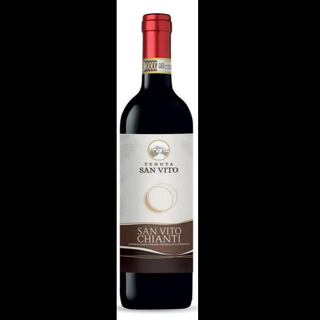 Chianti  Chianti Colli Fiorentini D.O.C.G- Italian Wine distributed by Beviamo International in Houston, TX