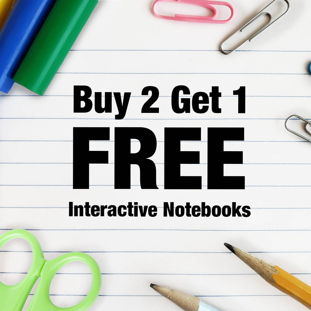 B2G1 Interactive Notebooks