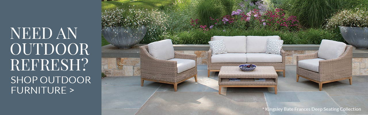 Need an outdoor refresh? Shop Outdoor Furniture