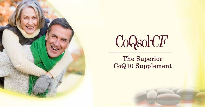 CoQSol-CF: The Superior CoQ10 Supplement