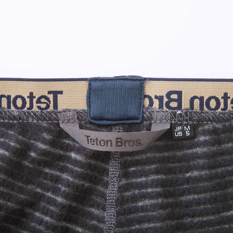 Teton Bros.(ティートンブロス)/パワーウール グリッドパンツ/グレー/MENS