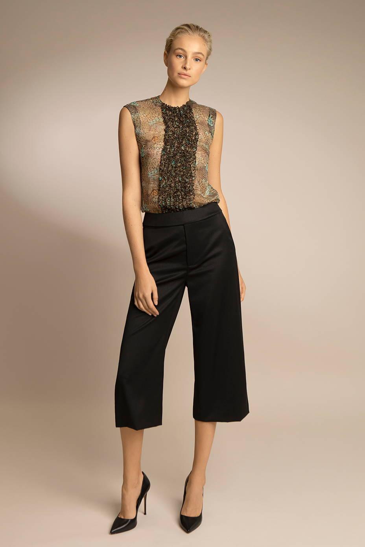 Women's Wool Pants and Muslin Top | PENDA Women