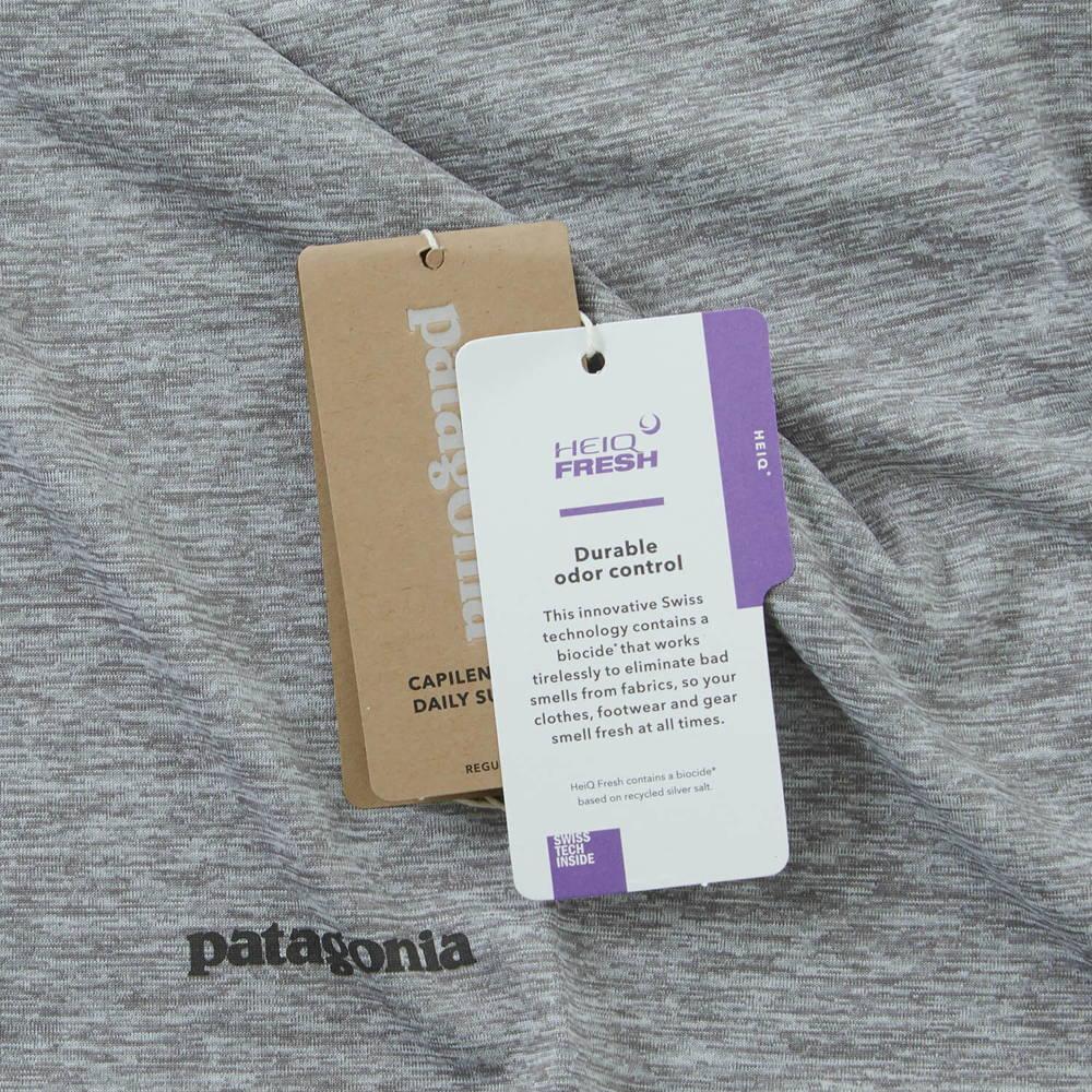 patagonia(パタゴニア)/キャプリーンクール ロングスリーブトレイルシャツ/ブラウン/MENS