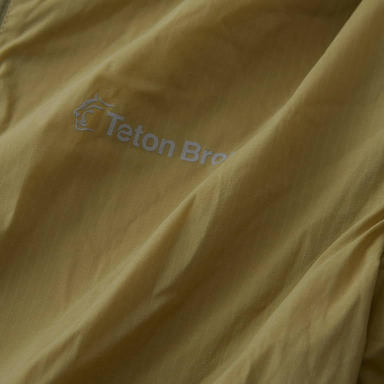 Teton Bros.(ティートンブロス)/ウインドリバーフーディ/マスタード/WOMENS