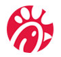 chick fila custom sock logo