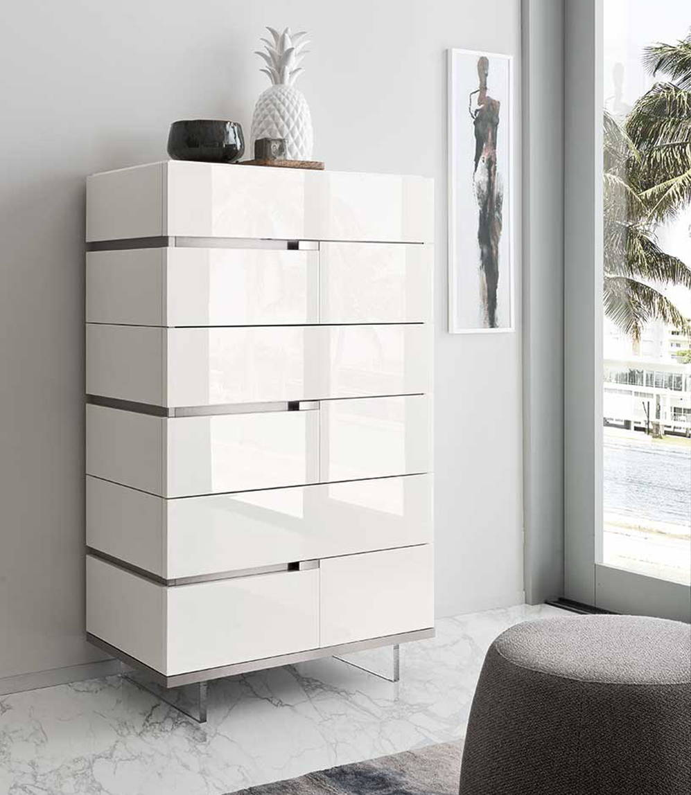 Tall Bedroom Chest By Alf Italia - Artemide Collection