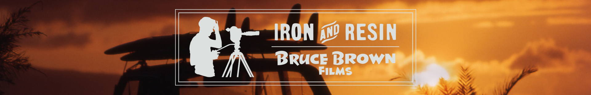 Iron & Resin X Bruce Brown Films Product Collection