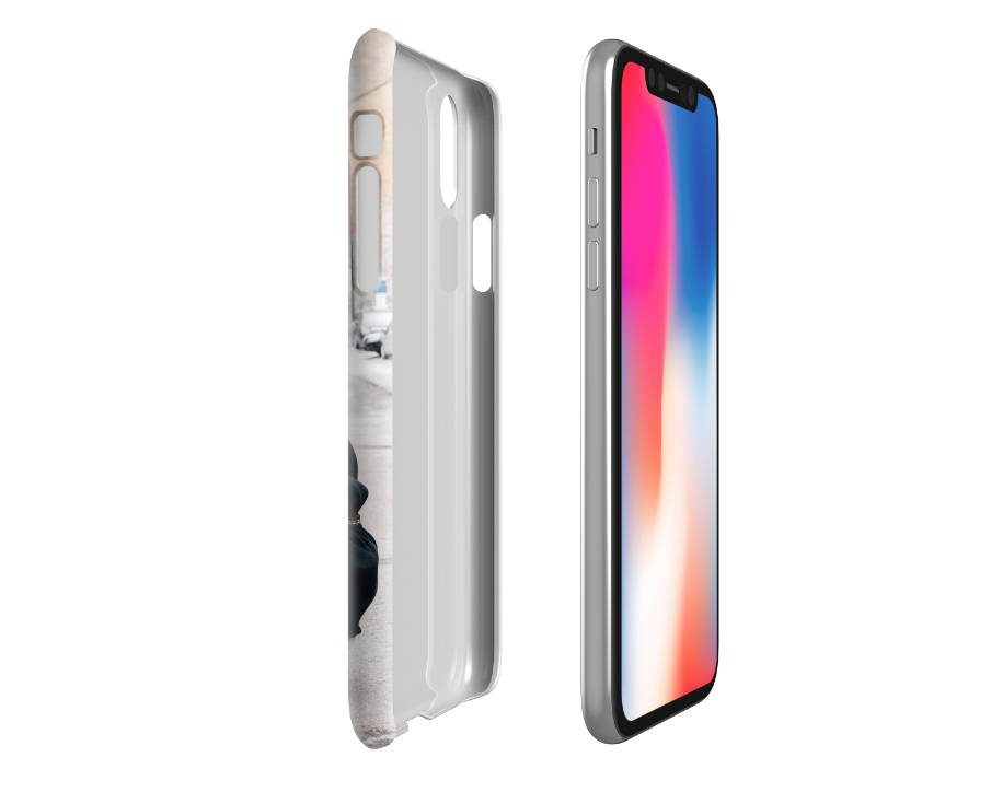 Custom iPhone XR Slim Case Expanded Side