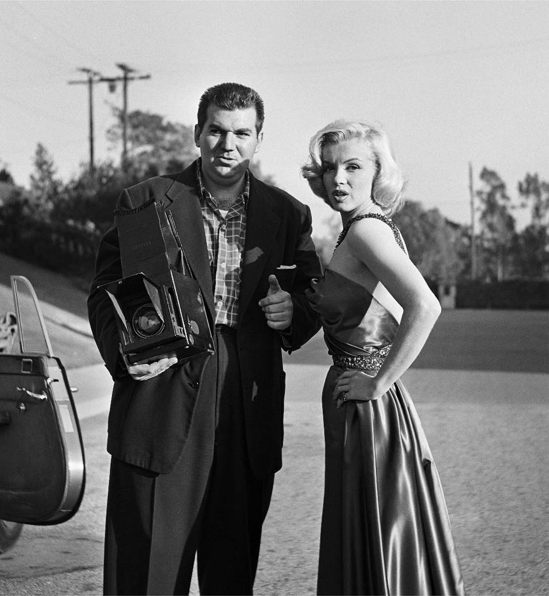 Frank Worth and Marilyn Monroe