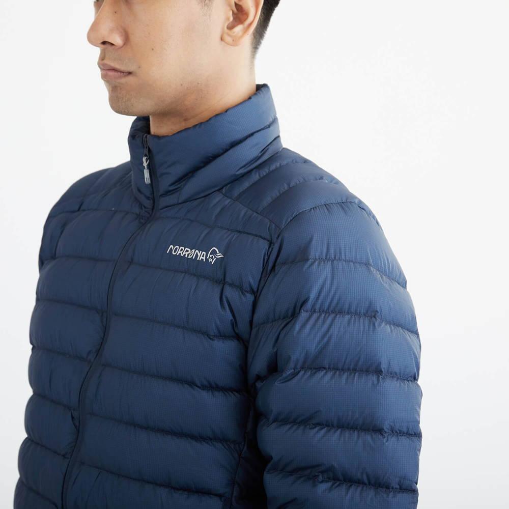 NORRONA(ノローナ)/ビティホーン スーパーライトダウン900ジャケット/ネイビー/MENS
