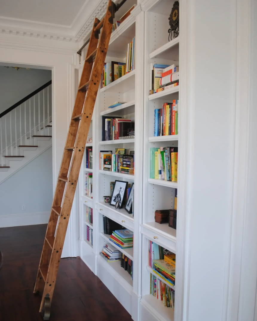 Learn about library ladders