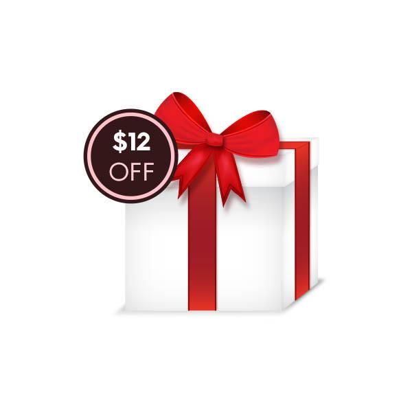 $12 OFF Gift Code