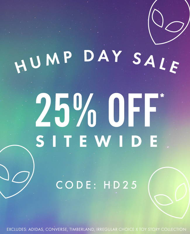 Hump Day Sale.  25% Off Site Wide | CODE: HD25