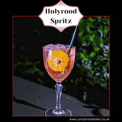 How to make a Holyrood spritz cocktail