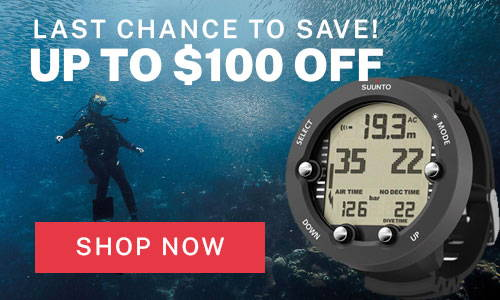 Save up to $100 on the Suunto Vyper Novo Computer!