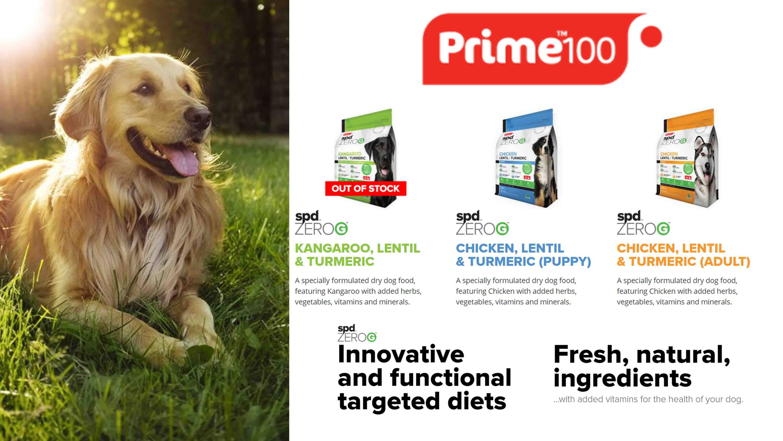 Prime100 ZeroG - Pet Food Leaders