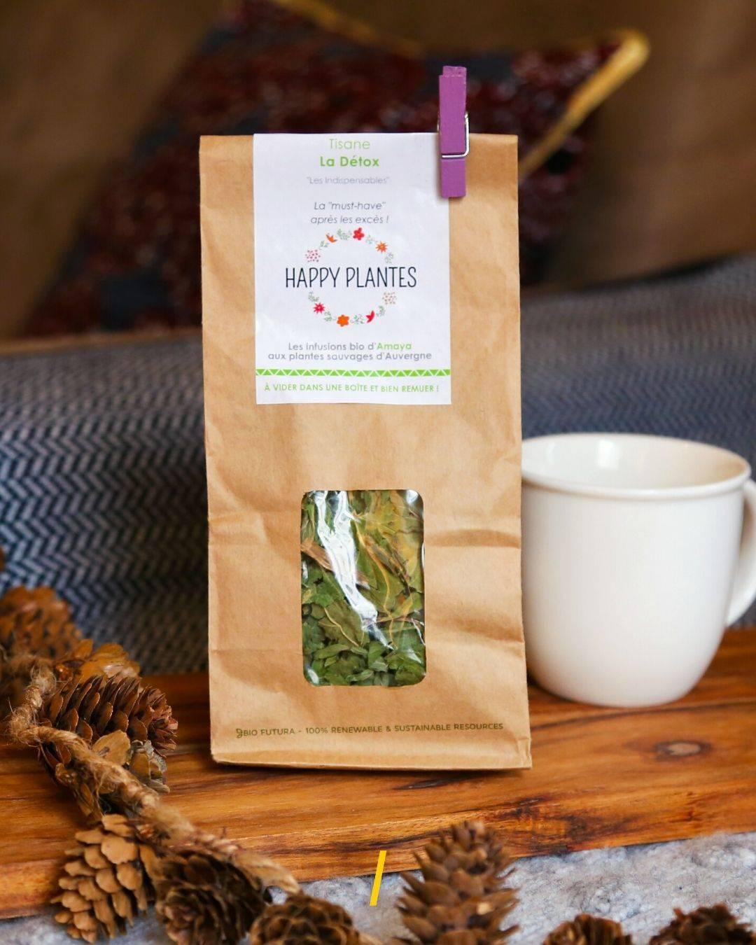 La tisane Bio - Detox - Happy Plantes
